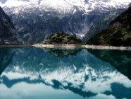 Озеро Gelmer, Швейцария — стоковое фото