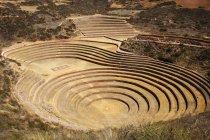 Incan ruins, Moray, Cusco, Peru — Stock Photo