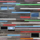 Pattern of abstract building exterior — Stock Photo