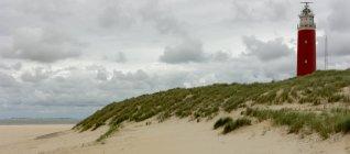 Vista Lighthouse Texel — Fotografia de Stock