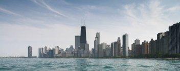 Skyline de la ciudad de Chicago - foto de stock