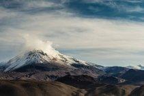 View on Volcano at Guallatire — Stock Photo