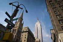 View of Manhattan, New York — Stock Photo