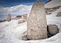 Sculture in pietra a Nemrut Dagi — Foto stock