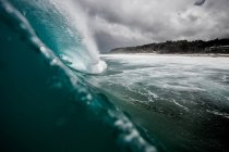 Rompere le onde a Rocky Point — Foto stock