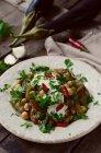 Melanzane arrostite marocchina — Foto stock