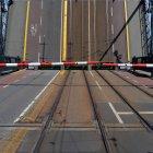 Brückenöffnung tagsüber — Stockfoto
