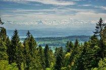 Краєвид з ле Chasseral гори — стокове фото