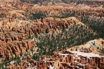 Vista aérea de Bryce Canyon, EUA, Utah — Fotografia de Stock