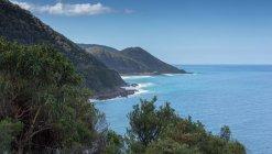 Bella vista sulla costa, Victoria, Australia — Foto stock