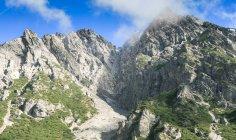Hermosa vista si picos de montaña, Alpes, Austria - foto de stock