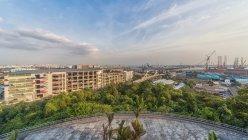 Мальовничим видом Джуронг Хілл, Джуронг острови, Сінгапур — стокове фото