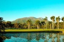 Scenic view of Mont Isabela de Torres, Puerto Plata, Dominican republic — Stock Photo