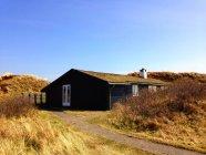 Традиційні дерев'яні дача, Fanoe, Данія — стокове фото