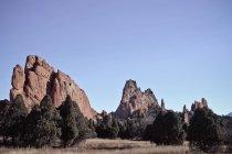Malerischer Blick auf majestätische Felsformationen — Stockfoto