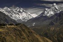 Malerische Aussicht des Himalaya-Gebirges, Nepal — Stockfoto