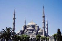 Мальовничий вид на мечеть султана Ахмеда синій, Стамбул, Туреччина — стокове фото