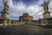 Scenic view of Castel Sant Angelo, Rome, Italy — Stock Photo