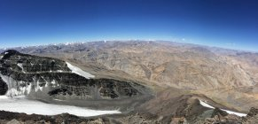 Vista panoramica dalla cima del monte Kangyatse II in Ladakh, India — Foto stock
