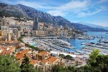 Vista panoramica di La Condamine e Monte Carlo, Monaco — Foto stock