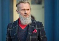 Portrait d'un homme de hipster funky à la recherche sur le côté — Photo de stock