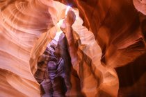 Scenic view of majestic Antelope Canyon, Page, Arizona, USA — Stock Photo
