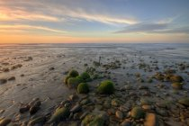 Majestic sunset over sea at Malaysia, Kuala Penyu Sabah — Stock Photo
