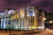 Exterior da capela de Henrique Vii, Abadia de Westminster, Londres, Reino Unido — Fotografia de Stock