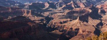 Живописный вид на Гранд-Каньон от Пима точки вдоль отшельник Trail, Аризона, США — стоковое фото