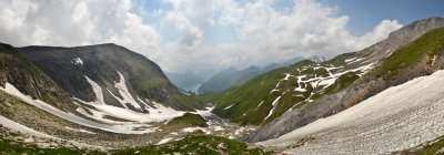 Швейцарія, захоплююча Панорама швейцарські Альпи — стокове фото
