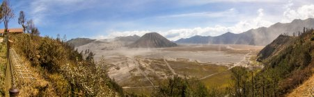 Indonésia, Java Oriental, Malang, vista panorâmica do Parque Nacional de Bromo Tengger — Fotografia de Stock
