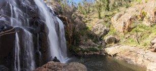 Bela cachoeira fascinante do Mackenzie, Victoria, Austrália — Fotografia de Stock