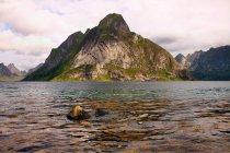 Норвегия, Рок Рок, Роки-гора и море — стоковое фото