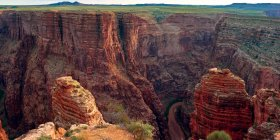 Little Colorado River Gorge, Grand Canyon, Arizona, USA — Stock Photo