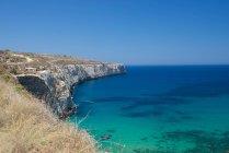 Malerischer Blick auf die Bucht von Fomm ir-rih, Bahrija, Malta — Stockfoto