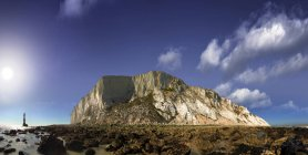 Vista panoramica di lands end a Beachy Head, Eastbourne, East Sussex, Regno Unito — Foto stock