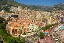 Scenic view of City skyline, Monte Carlo, Monaco — Stock Photo