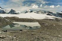 Scenic view of Matterhorn mountain, Alps, Valais, Switzerland — Stock Photo