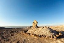 Прекрасний вид на скельних утворень, Valle de la Luna, пустеля Атакама, Чилі — стокове фото