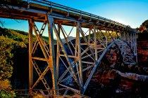 Scenic view of Sedona Midgley Bridge, Arizona, USA — Stock Photo
