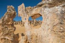 Scenic view of Pinnacles, Cervantes, Nambung National Park, Australia — Stock Photo