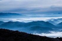 Italy, Terni, Scenic view of mountainous landscape — Stock Photo