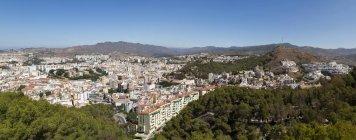 Spain, Andalusia, Malaga, Panoramic cityscape — Stock Photo