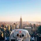 Vista dell'Empire State Building, Stati Uniti d'America, Stato di New York, New York — Foto stock