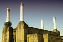 Scenic view of Battersea Power Station, London, UK — Stock Photo