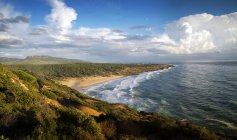 Scenic view of El Canuelo Beach, Bolonia, Cadiz, Andalucia, Spain — Stock Photo