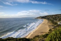 Vista panorámica de la playa de Los Alemanes, Zahara de los Atunes, Cádiz, Andalucía, España - foto de stock