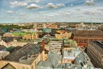 Luftaufnahme der Stadtlandschaft von Helsinki, Finnland — Stockfoto