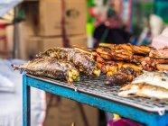 Closeup view of Street food at Bangkok, Thailand — Stock Photo