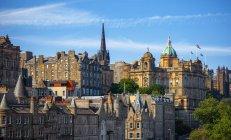 City skyline, Edinburgh, Scotland, UK — Stock Photo